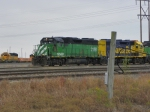 BNSF GP38AC 2128
